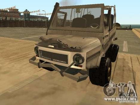 LuAZ 969 Offroad para vista lateral GTA San Andreas