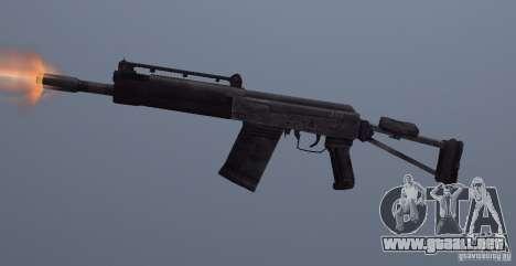 Izhmash Saiga-12K para GTA San Andreas tercera pantalla