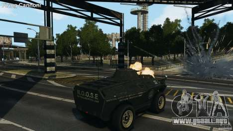 Tank Mod para GTA 4 segundos de pantalla