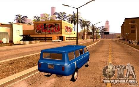 ZAZ 970 para la vista superior GTA San Andreas