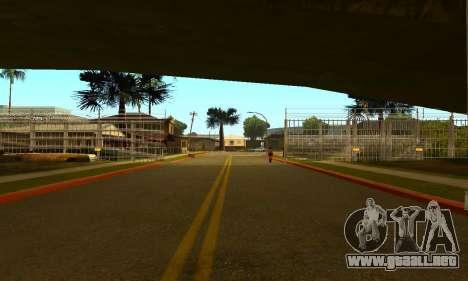 La cerca alrededor del surco Sreet para GTA San Andreas segunda pantalla