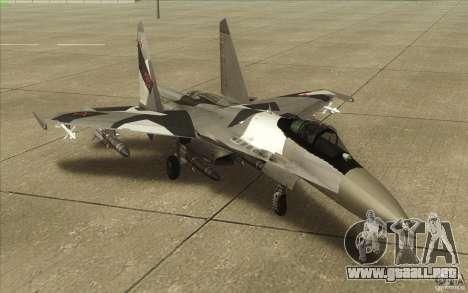 Su-35 BM v2.0 para GTA San Andreas left