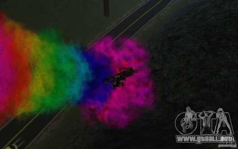 Bike Smoke para GTA San Andreas sexta pantalla