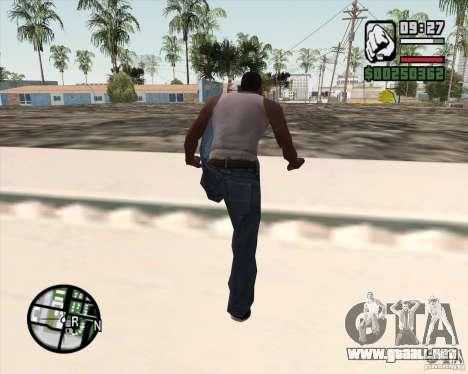 GTA 4 Anims for SAMP v2.0 para GTA San Andreas novena de pantalla