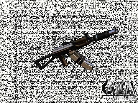 Weapon pack v2 para GTA San Andreas sucesivamente de pantalla