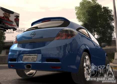 Opel Astra OPC para GTA 4 left