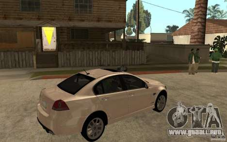 Chevrolet Lumina 2010 para la visión correcta GTA San Andreas