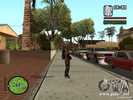 El nuevo paracaídas para GTA San Andreas segunda pantalla
