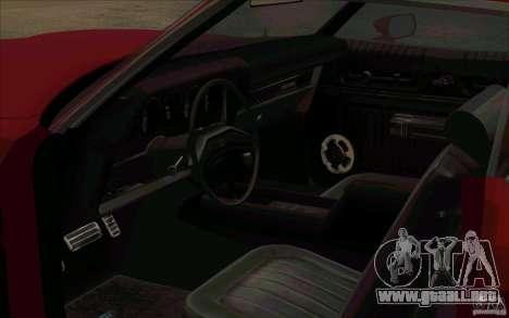 Ford Torino para la visión correcta GTA San Andreas