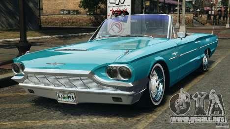 Ford Thunderbird Light Custom 1964-1965 v1.0 para GTA 4