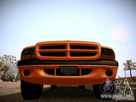 Dodge Ram 1500 Dacota para visión interna GTA San Andreas