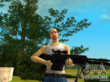 Accuracy International AS50 para GTA San Andreas