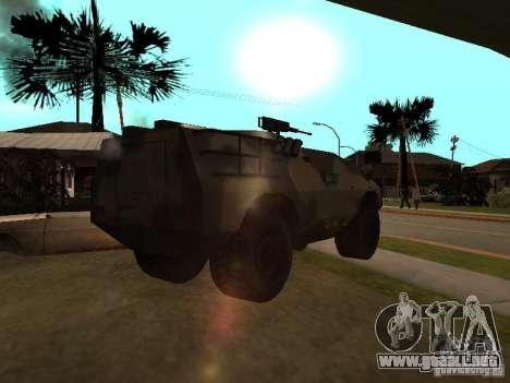 S. w. a. T de Counter Strike Source para GTA San Andreas vista posterior izquierda