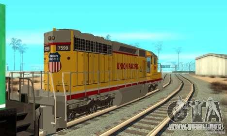 Locomotora SD 40 Union Pacific para GTA San Andreas