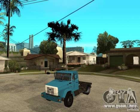 ZIL-433362 Extra Pack 2 para GTA San Andreas vista posterior izquierda