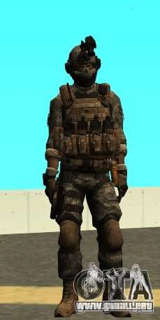 USA Army Special Forces (FIXED) para GTA San Andreas segunda pantalla