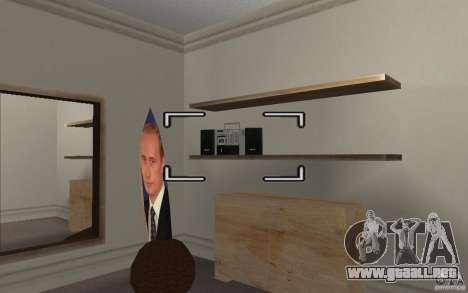 Detalle del Interior para GTA San Andreas segunda pantalla