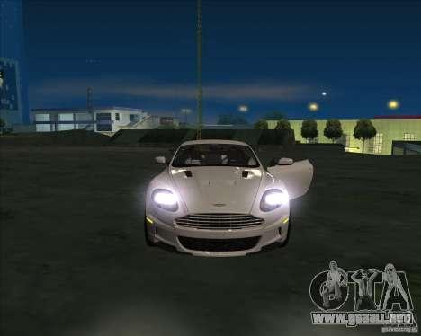 Aston Martin DBS 2009 para GTA San Andreas