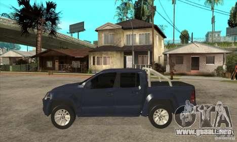 Volkswagen Amarok 2010 para GTA San Andreas left