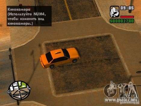 Tormenta de arena para GTA San Andreas sucesivamente de pantalla