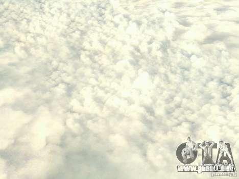 Nube de HD para GTA San Andreas tercera pantalla