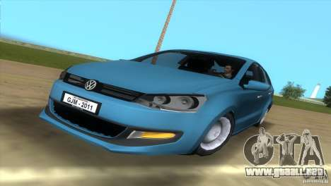 Volkswagen Polo 2011 para GTA Vice City