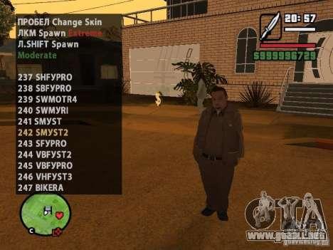 GTA IV peds to SA pack 100 peds para GTA San Andreas twelth pantalla