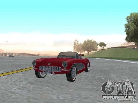 Chevrolet Corvette C1 para GTA San Andreas