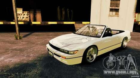 Nissan Silvia S13 Cabrio para GTA 4 left