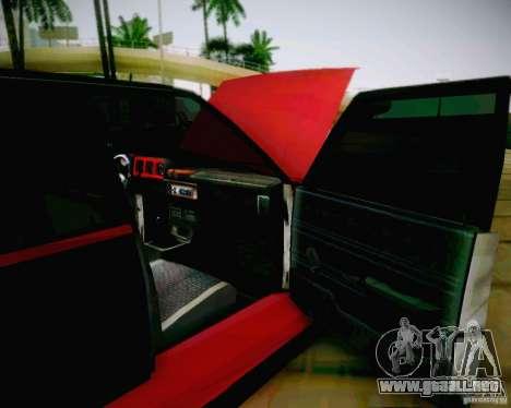 Tofas Dogan SLX DRIFT para GTA San Andreas vista hacia atrás
