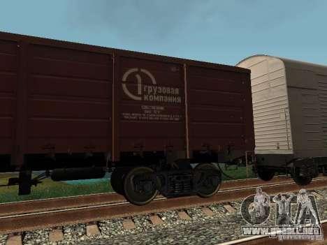 Empresa de carga carro abierto para GTA San Andreas left