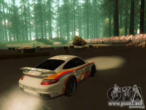 Porsche 997 GT2 Fullmode para la visión correcta GTA San Andreas