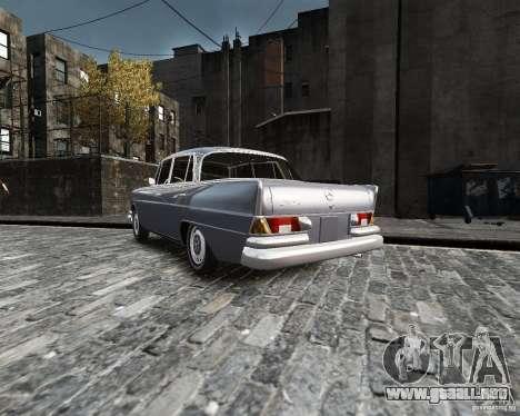 Mercedes-Benz W111 para GTA 4 left