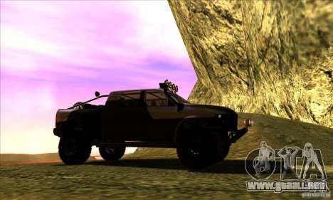 Dodge Ram All Terrain Carryer para la visión correcta GTA San Andreas