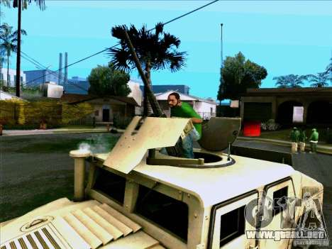 Hummer H1 Irak para la visión correcta GTA San Andreas