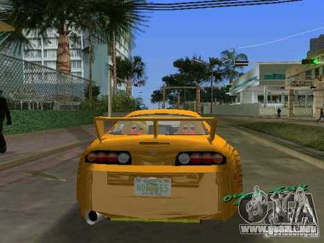 Toyota Supra para GTA Vice City left