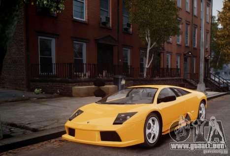 Lamborghini Murcielago para GTA 4 left