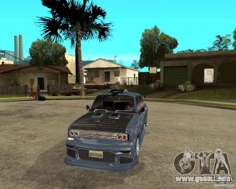 AZLK 2140 afinado SX para GTA San Andreas vista hacia atrás