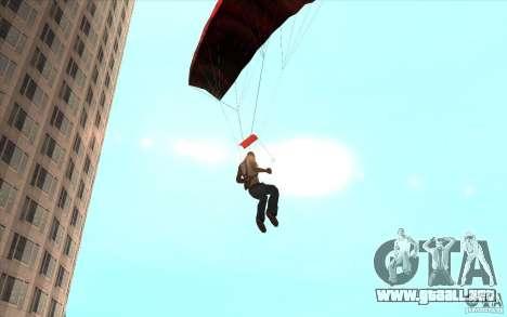 Paracaídas para GTA San Andreas sexta pantalla