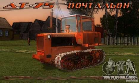 Tractor DT-75 cartero para GTA San Andreas