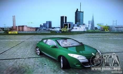 Renault Megane Coupe para la visión correcta GTA San Andreas