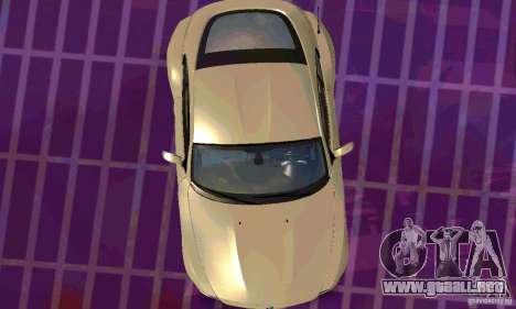 BMW Z4 E85 M para vista lateral GTA San Andreas