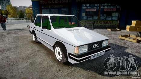 Volkswagen Jetta 1981 para GTA 4 visión correcta