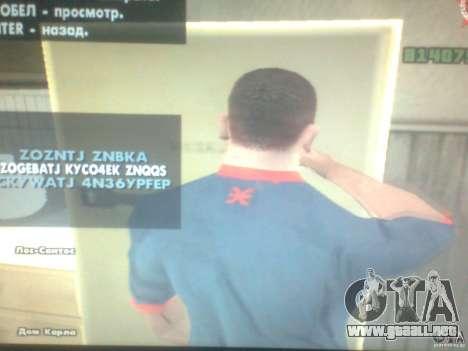Hambre CJ para GTA San Andreas tercera pantalla