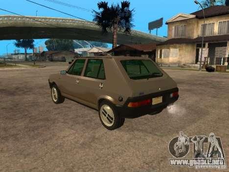 Fiat Ritmo para GTA San Andreas left