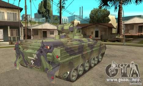 Marder 1A3 para la visión correcta GTA San Andreas
