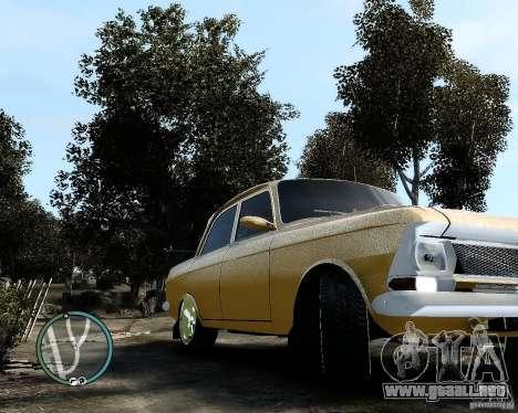 Moskvič 412 Street Racer [alfa] para GTA 4 Vista posterior izquierda