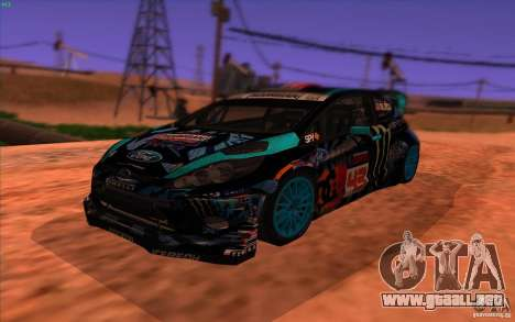 Ford Fiesta H.F.H.V. Ken Block 2013 para GTA San Andreas