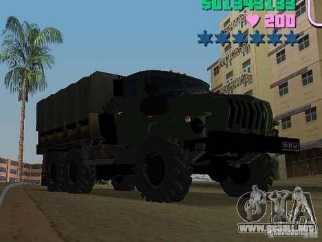 Ural 4320 para GTA Vice City left