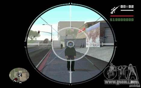 Francotirador v mod 1. para GTA San Andreas